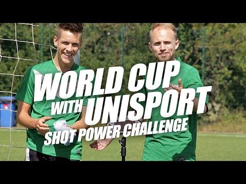 Shot power challenge - World Cup with Unisport