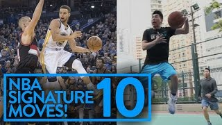 NBA SIGNATURE MOVES 10: CRAZY GAME WINNERS AND CROSSOVERS