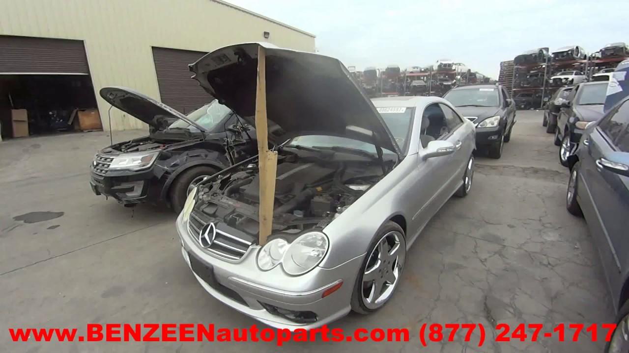 2005 Mercedes CLK500