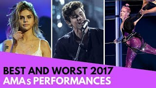 AMAs: Best and Worst Performances! (BTS, Selena Gomez, etc!)