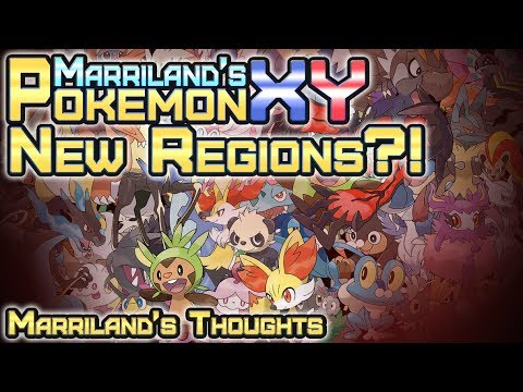 New Regions after Pokémon X & Y in Gen VI?!