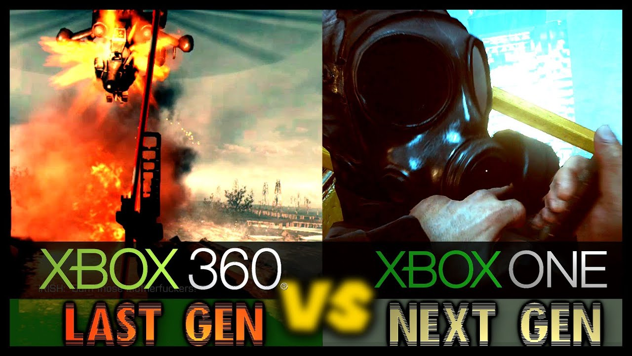 Xbox 360 vs Xbox One (Battlefield 4 Graphic Comparison ...