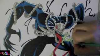 Dibujando A: Venom 2099