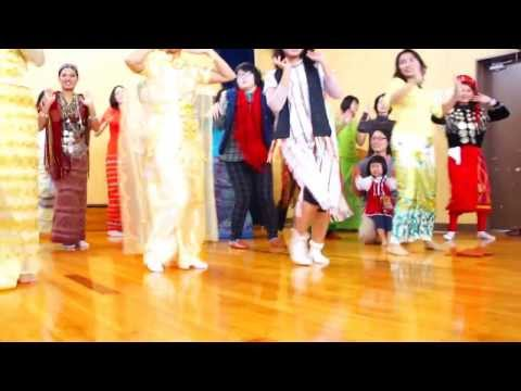 IUJ Myanmar ThinGyan Dance (Song: Mya Nan Dar)