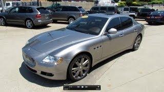 Maserati Quattroporte V8 driven by Autovisie.nl videos