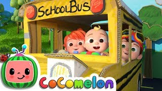 Wheels on the Bus 2 | CoCoMelon Nursery Rhymes
