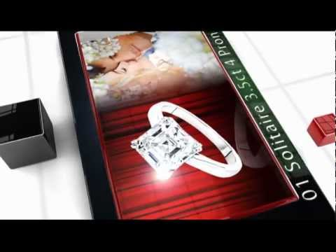 Cubic Zirconia Engagement Rings cz rings