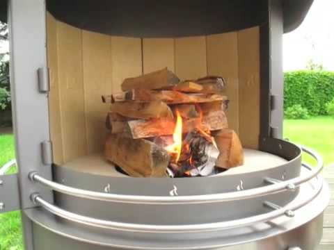 Ma chemin e ext rieur mon barbecue design les 2 en 1 youtube - Cheminee barbecue exterieur ...