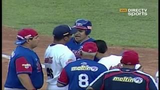Pelea Entre Álex Cabrera Y Armando Galarraga [Leones Vs