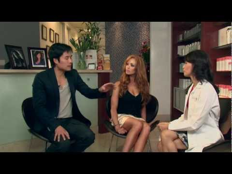 Hannah Vu MD Trinh Hoi Show1 Part1 Laser Skin Stretchmarks with Playboy Christine Smith