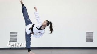 Habilidad espectacular en Taekwondo