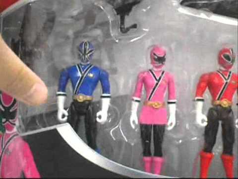 Power Rangers Samurai Toys Preview