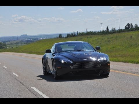 Playing with Exotics on the Freeway: Aston Martin V12 Vantage and Ferr