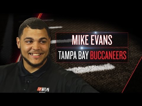 Mike Evans on new Bucs role, giant players, NFL adjustments (2014 NFLPA Rookie Premiere)