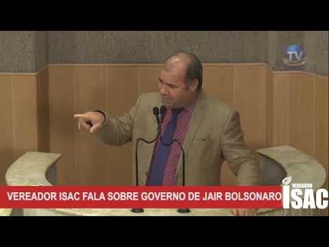 Imagem para vídeo Vereador Isac discursa, mais uma vez, sobre o Governo Fed...