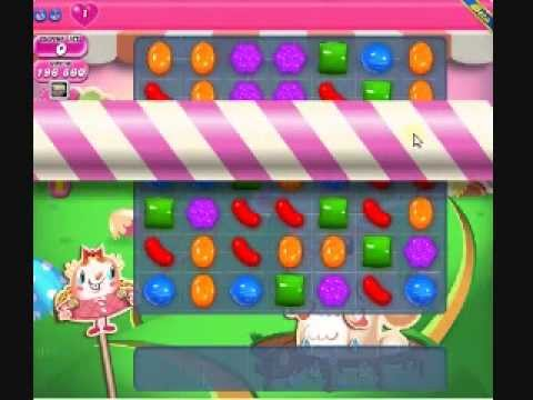 How to beat Candy Crush Saga Level 75 - 2 Stars - No Boosters - 196