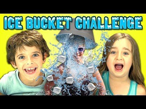 Kids React to Ice Bucket Challenge