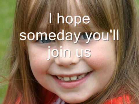 Connie Talbot Imagine english subtitles ( lyrics ) - YouTube