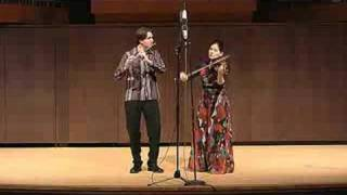 The Butterfly (Irish Tune) Flute & Violin