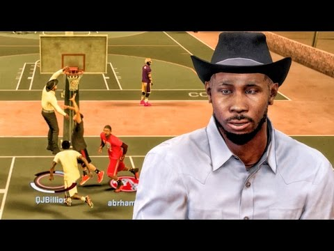 WILD COWBOY POSTERIZING AT THE PARK! NBA 2K17 MyPark Gameplay Ep. 3