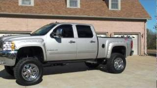 SOLD !! 2008 CHEVY SILVERADO 2500 DURAMAX LIFTED FOR SALE
