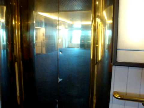 Nice Old VALMET-Schlieren Marine Traction Elevators/Lifts, St Peter Line M/S Princess Maria (Retake)