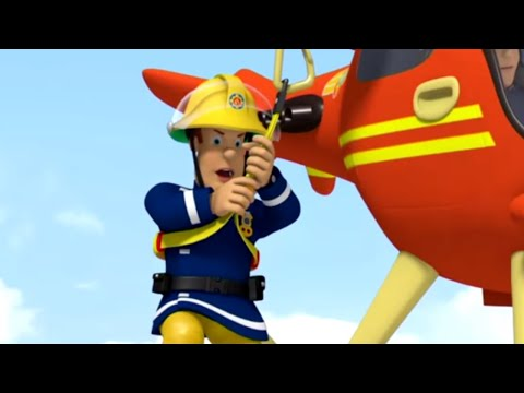 Požárník Sam - Let na vrtulníku
