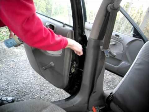 How To Fix Car Door Hinge Squeak Creak Youtube