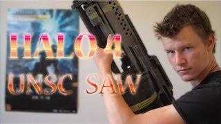 Halo 4 : NEW UNSC SAW ( LMG FAN PROP )