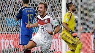 Germany Scores And Wins The World Cup 2014