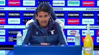 Lazio-Inter | La conferenza stampa di Mister Inzaghi
