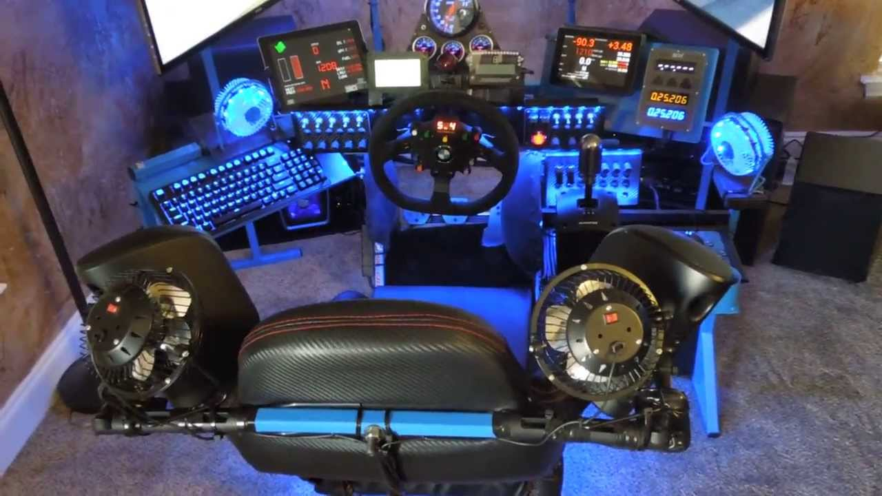 Iracing My Detailed Simulator Rig Video Youtube