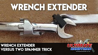 Two spanner trick | wrench extender