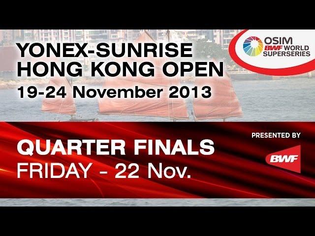 QF -- MD -- M. Ahsan/H. Setiawan (INA) vs. V. Ivanov/I. Sozonov (RUS) -- 2013 Hong Kong Open