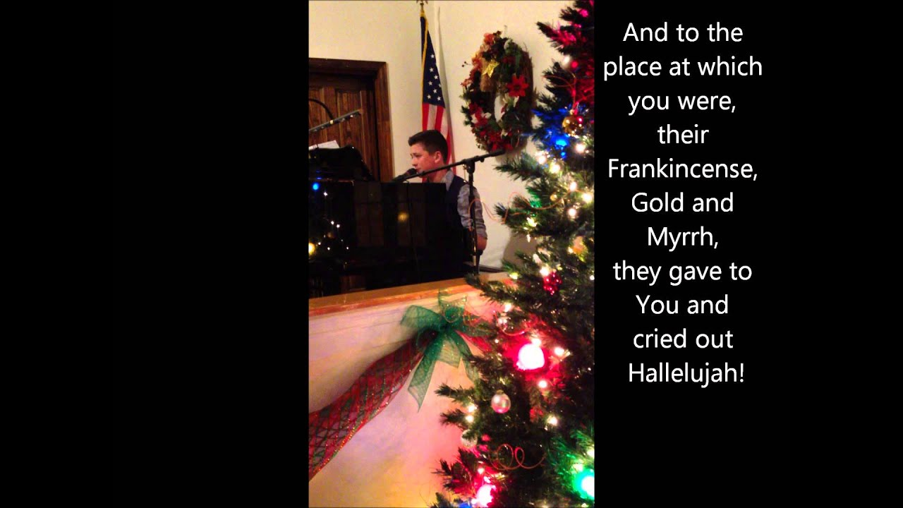 Hallelujah christmas by cloverton jonathan hutcherson cover