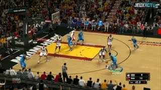 NBA 2K13 : Miami Heat Vs OKC Thunder (2012 NBA Finals Game)