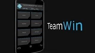 Galaxy S4 GT I9500 Instalar Y Como Usar TEAM WIN RECOVERY