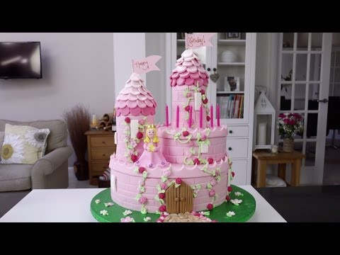 How To Make Castle Turrets For Cake
