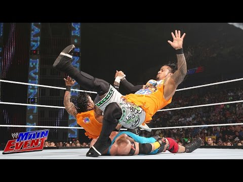 The Usos vs. Curtis Axel and Ryback: WWE Main Event, July 29, 2014