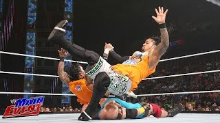 The Usos Vs. Curtis Axel And Ryback: WWE Main Event, July