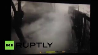 CCTV: Moment of Ankara blast caught on security camera