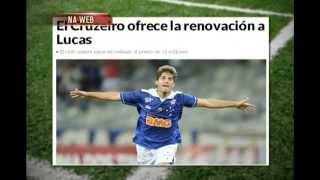 Cruzeiro descarta segunda proposta de Real Madrid por Lucas Silva