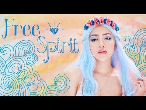 """Free Spirit"" Summer Beauty Look & Drawing Tutorial"