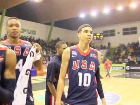 USA Men U16 Team's Gold Medal Celebration