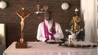 Message For Lent Of Fr, James Manjackal