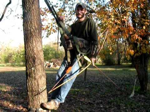 Trophyline Tree Saddle Shooting Longbow Pt2 Youtube