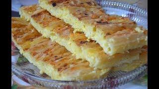Brza Lepeza Pita Quick Fan Phyllo Pie - Sašina kuhinja