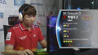 [SPL2014] Dark(SKT) vs Hush(CJ) Set1 Merry Go Round -EsportsTV, SPL2014