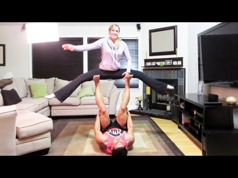 EPIC COUPLES STUNT
