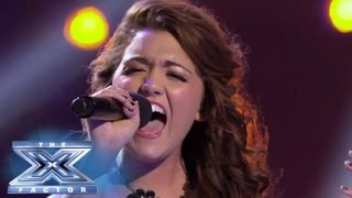 Rylie Brown Sings To The Heavens THE X FACTOR USA 2013